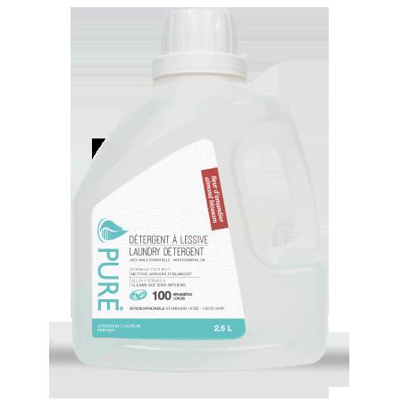 detergeant lessive 2.5 litre fleur d'amandier