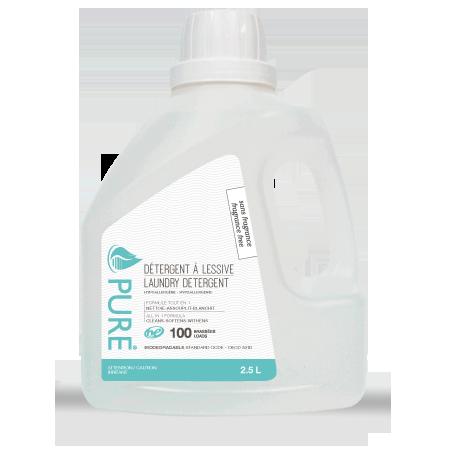 detergent lessive 2.5 litre sans fragrance