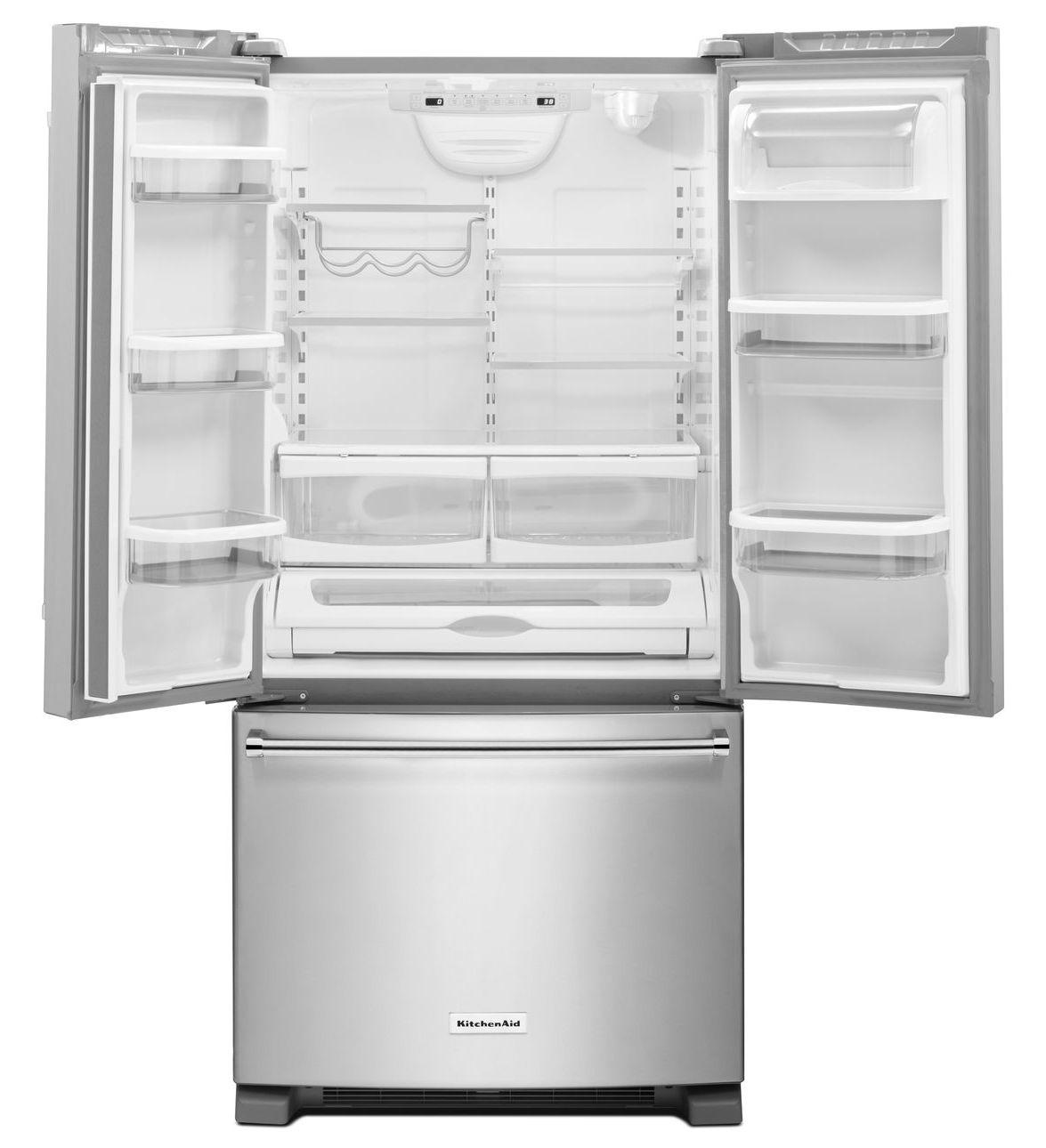 Kitchenaid réfrigérateur 22 pi cu 36 pouces de largeur profondeur comptoire