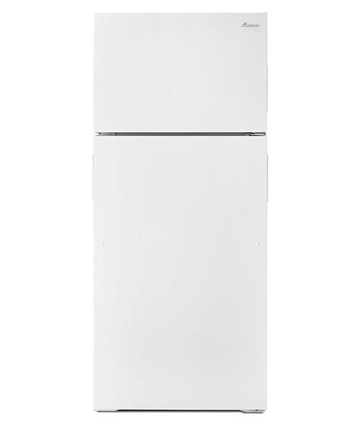 Réfrigérateur à congélateur supérieur Amana® de 16 pi cu avec capacité de rangement accrue