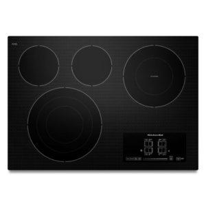 Table de cuisson électrique de 30 po KitchenAid® à 4 éléments, série Architect® II