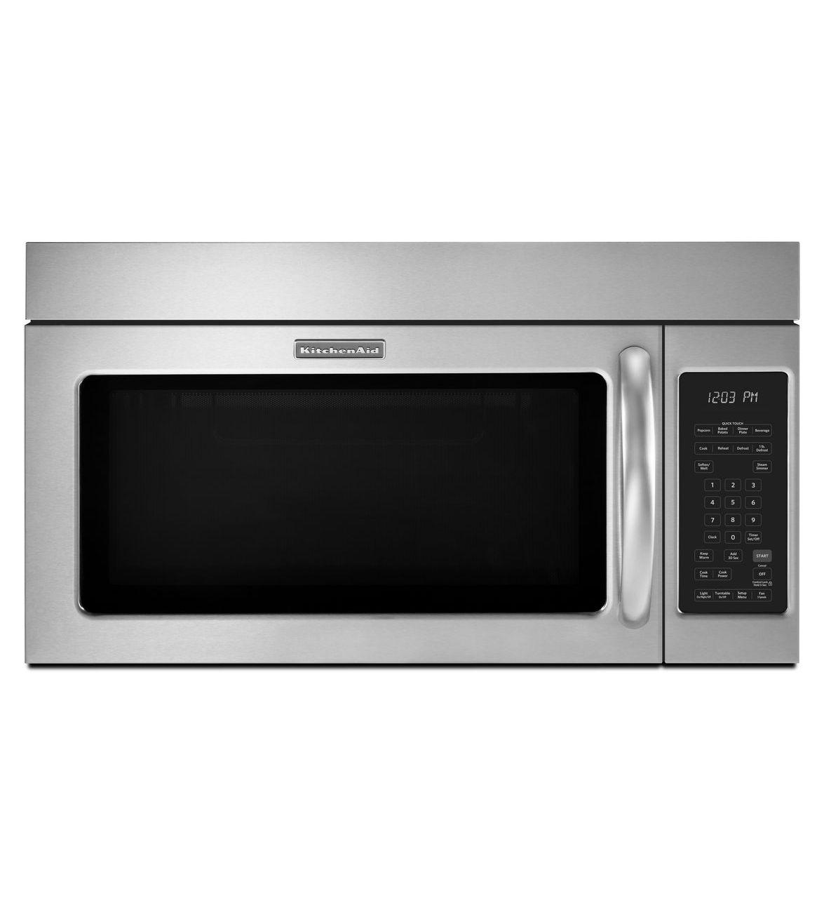 Four à micro-ondes à hotte intégrée KitchenAid®