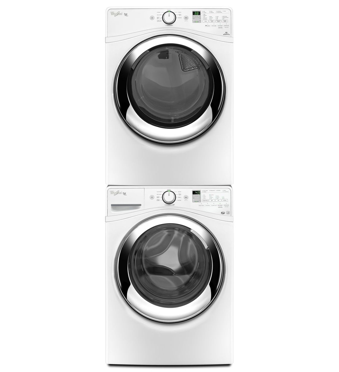 Whirlpool® Duet® 5,0 pi cu C.E.I.* Laveuse à chargement frontal Vapeur