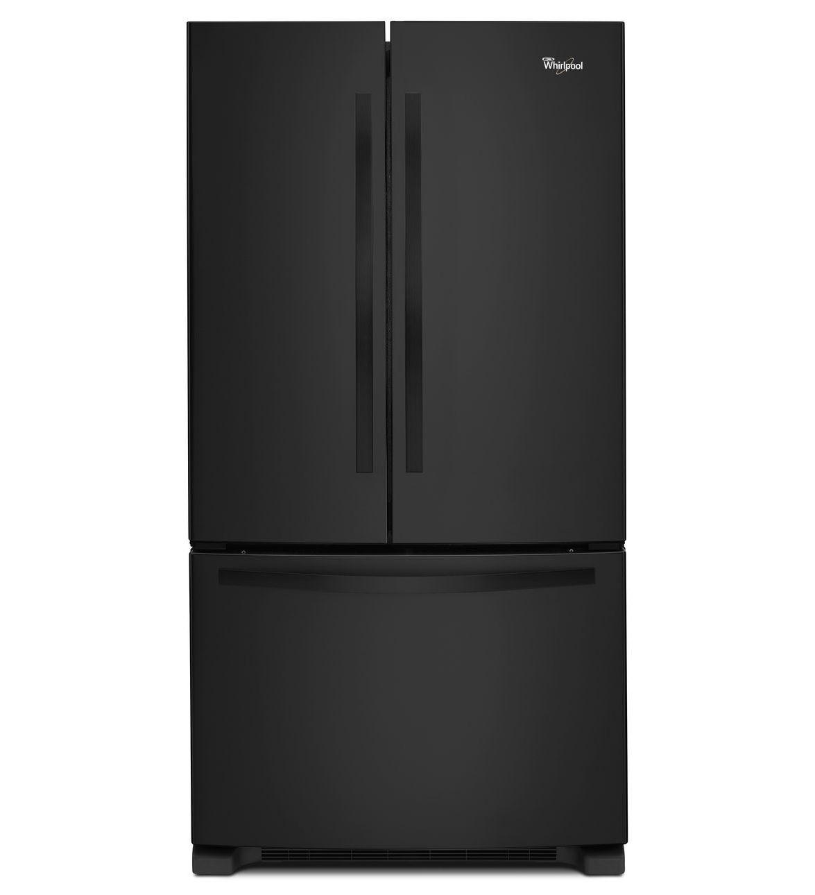 Réfrigérateur à portes françaises Whirlpool® de 22 pi cu avec système Accu-Chill™