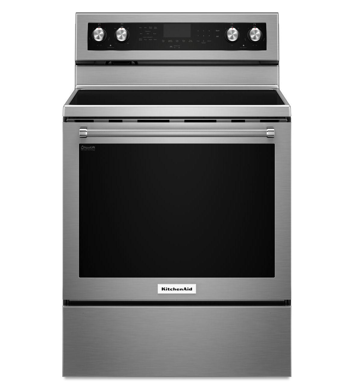 Cuisinière KitchenAid® de 30 pouces électrique, à convection et 5 éléments