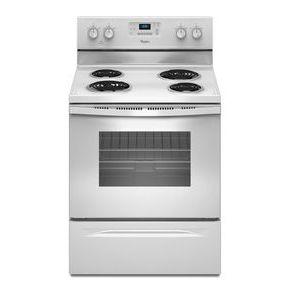 Cuisinière électrique Whirlpool® à four de 4,8 pi cu avec système de gestion de la température AccuBake®