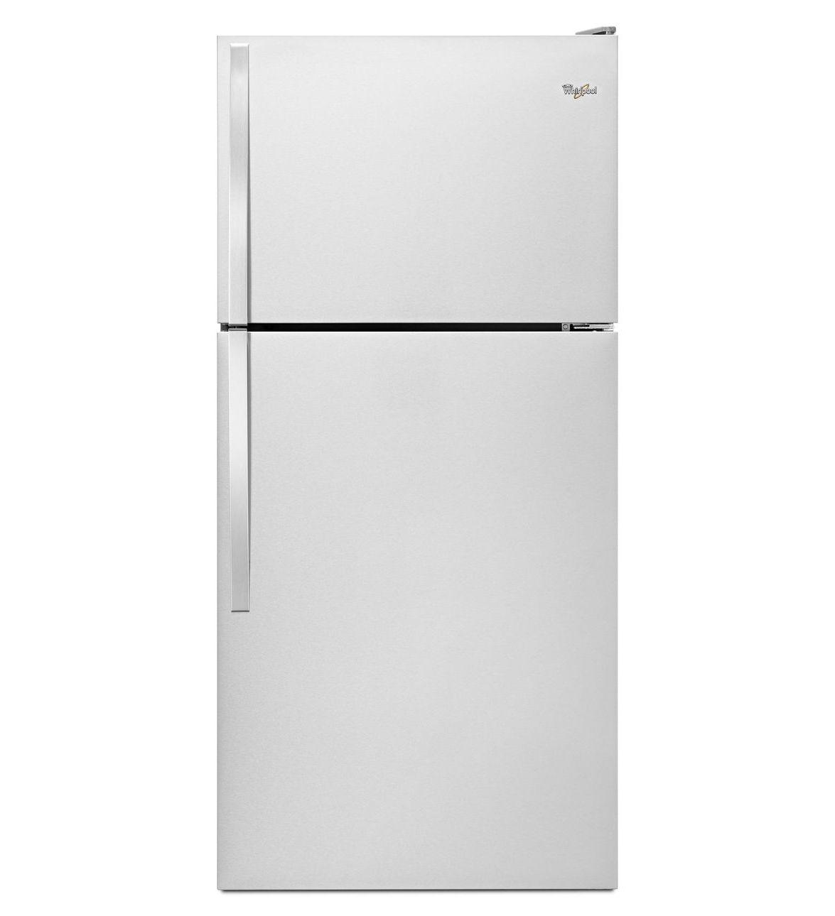 Réfrigérateur de 30 po à congélateur supérieur Whirlpool® avec bac Flexi-Slide™