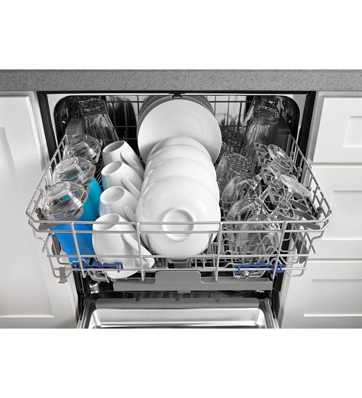 Lave-vaisselle Whirlpool® avec programme de lavage par détection